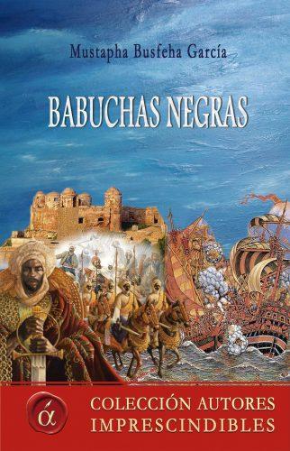Babuchas negras Mustapha Bushefa García